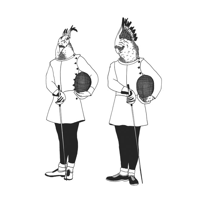 The Cockatoo Twins