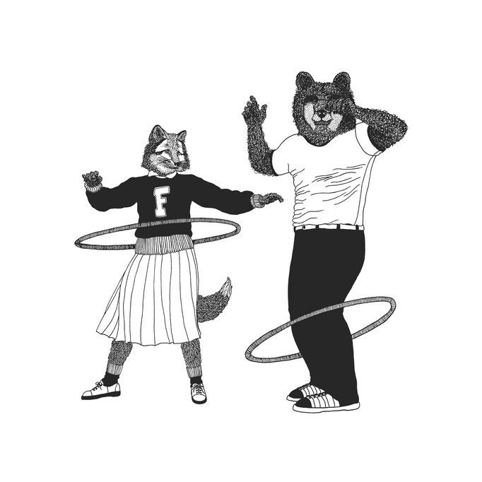 Foxy & Bert