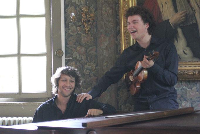 with Alexandre Lory Chateau de la Sauge