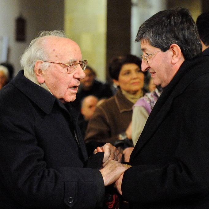 Il Cardinal Bartolucci e il Cardinal Betori