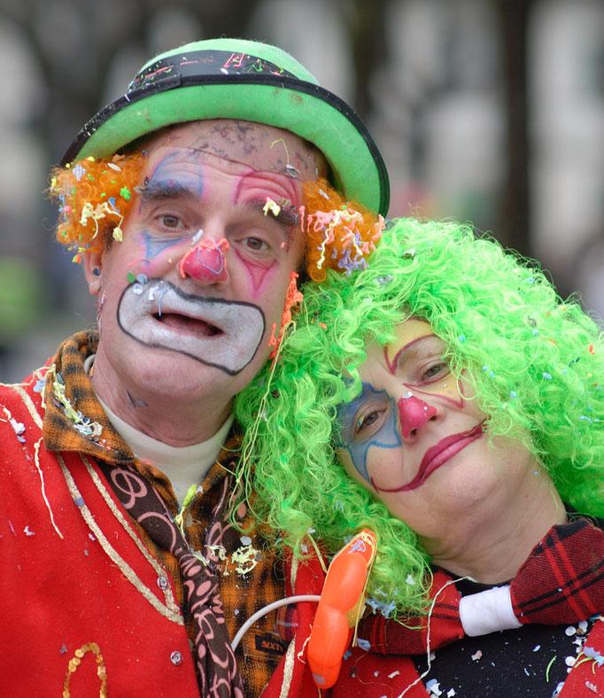 Marco Santelli e Marta Marinai al Carnevale di Borgo