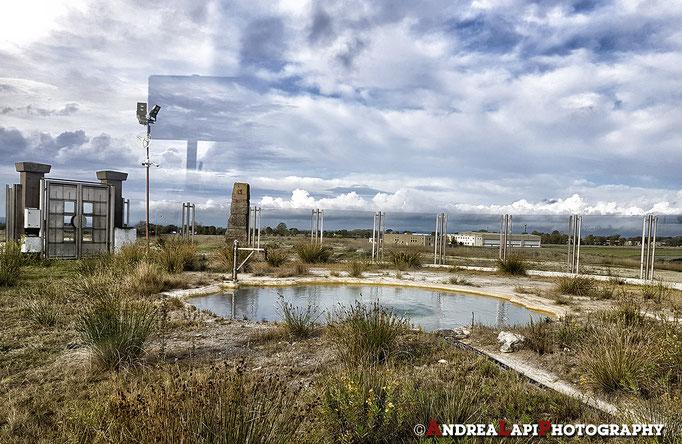 Parco del Bulicame: la sorgente recintata