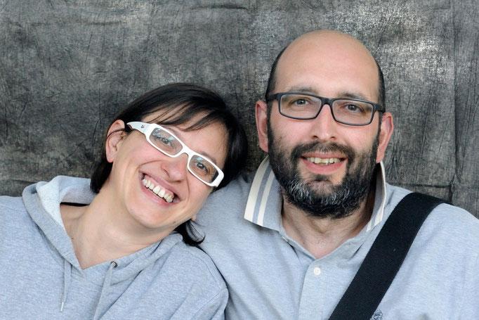 Lisa Bazzoni e Massimiliano Tubi