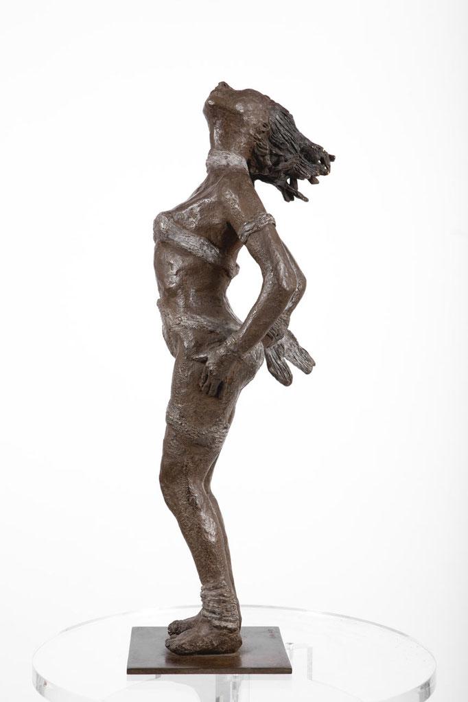 Cyané | bronze - 47 x 18 x 16 cm
