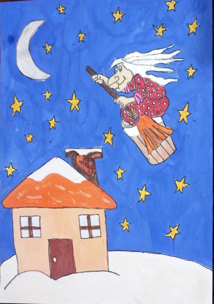 """М. Гоголь """"Ніч перед Різдвом"""".  Робота учениці 6 класу Бочелюк Світлани"""
