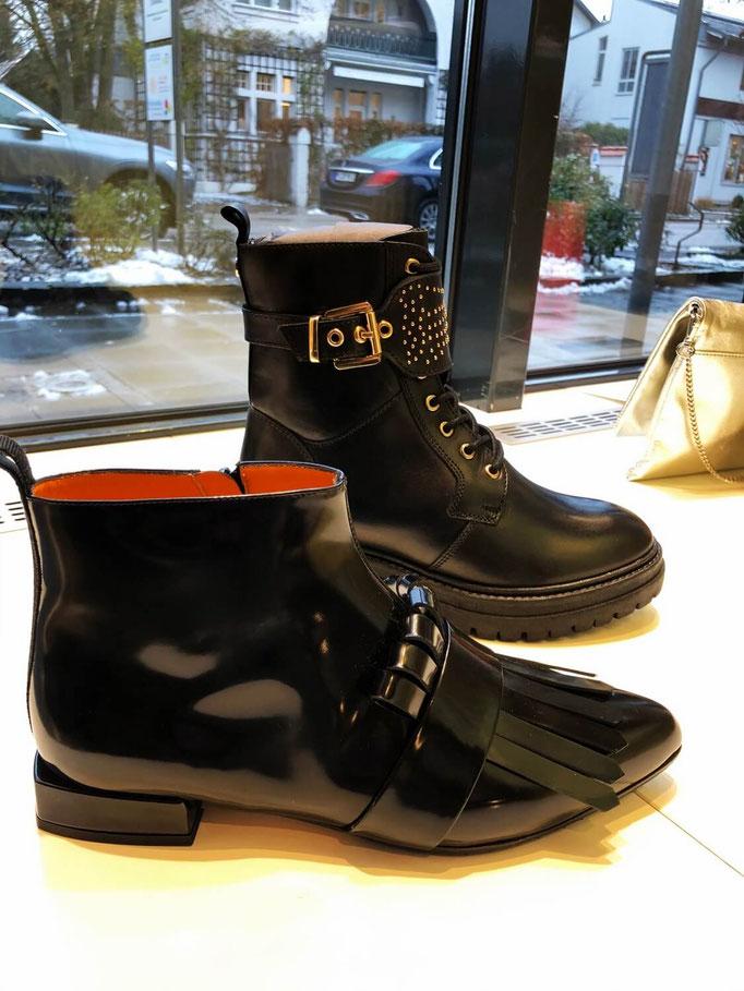 Boots Copenhagen Shoes 149,95€, ankle boots E&S 299€