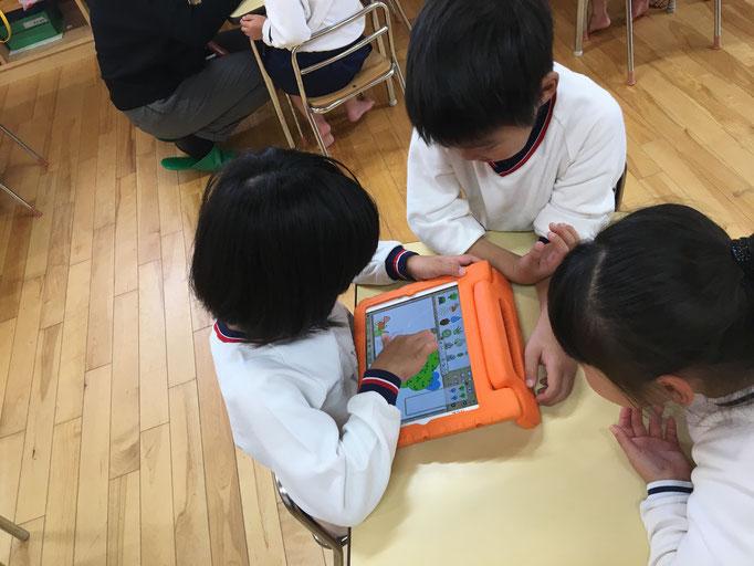 ICTタイム,えほんづくり,保育園,ICTスクールNEL,2017,