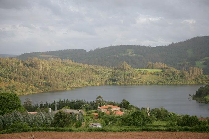 Vista de Lago de Portodemouros