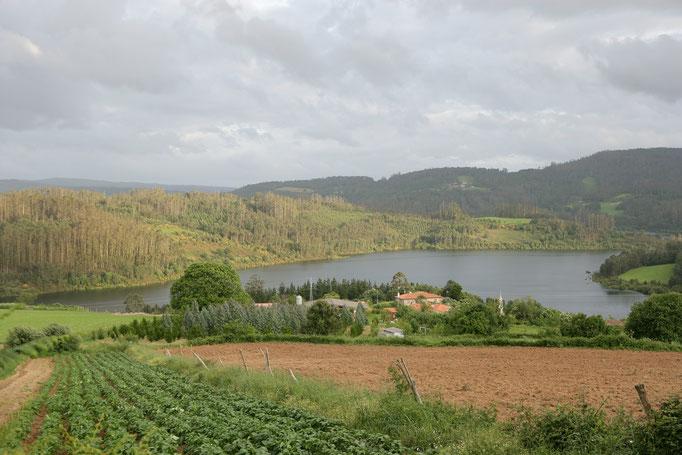 Lago de Portodemouros lugar de Viñós