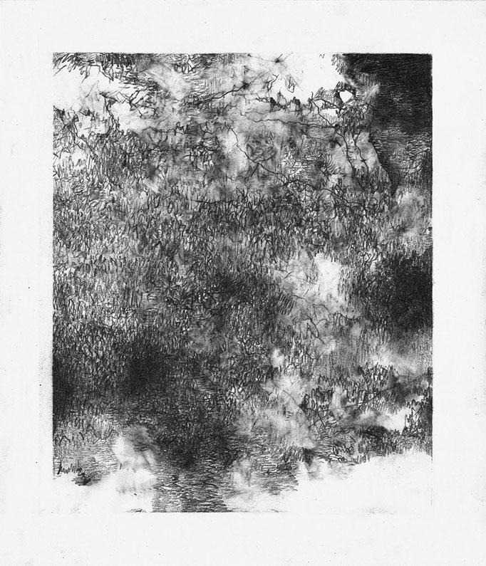 Seuls Demeurent III - graphite on paper - 21 x 18 cm - 2021