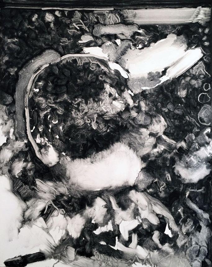 Sans titre - monotype - 50 x 40 cm - 2020