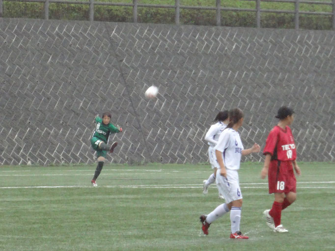 9月23日 関東女子サッカーリーグ⑤vs帝京大学