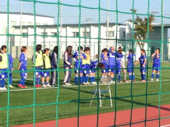 11月4日 関東女子サッカーリーグ順位決定戦&引退 応援ありがとうございました!