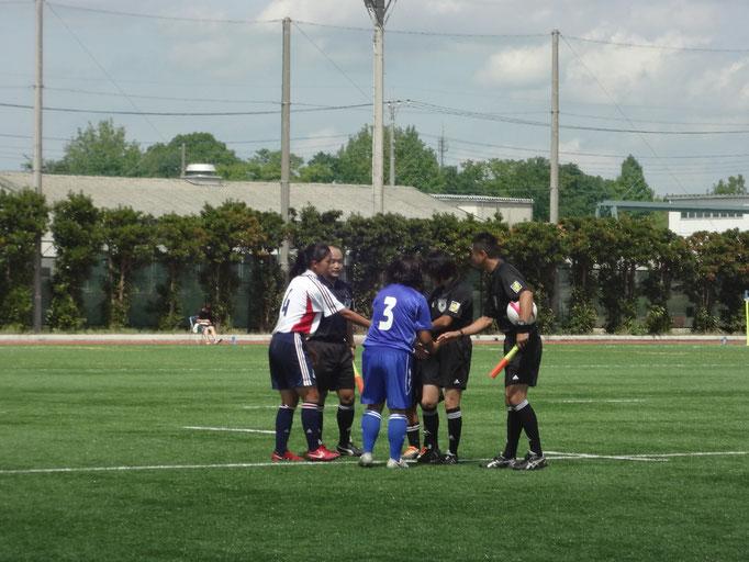 9月9日 関東女子サッカーリーグ②vs東京女子体育大学