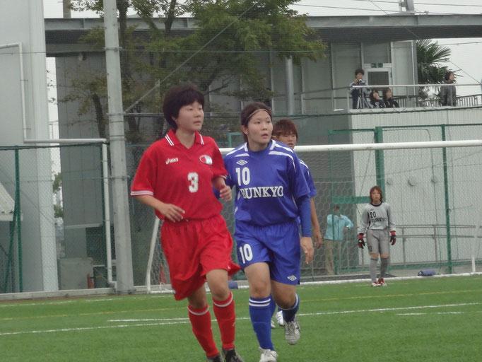 10月14日 関東女子サッカーリーグ⑥vs千葉大学