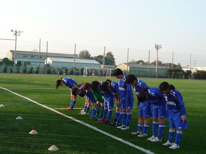 11月17日ブロッサムリーグ vs筑波大学(文教3グラ)