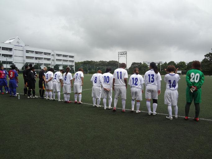 9月2日 関東女子サッカーリーグ①vs順天堂大学