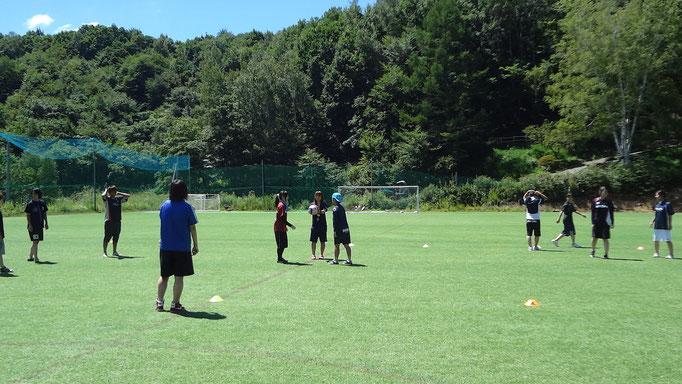 8月20日~ 尾瀬合宿 ドッジボール。