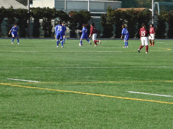 11月4日 関東女子サッカーリーグ順位決定戦&引退 vs茨城大学