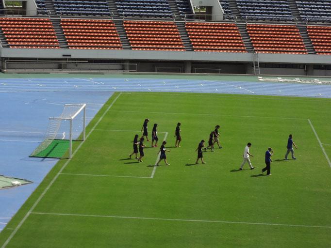 8月26日 関東女子サッカーリーグ開会式