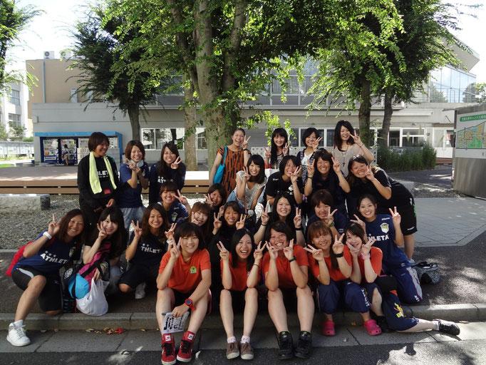 8月20日~ 尾瀬合宿 引退した4年生がお見送りしにきてくださいました!