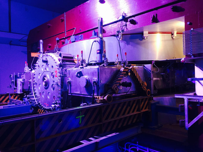 particle accelerator replicas at cern