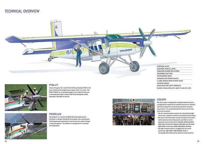 Pilatus Aircraft Ltd. PC-6 Broschüre 2009
