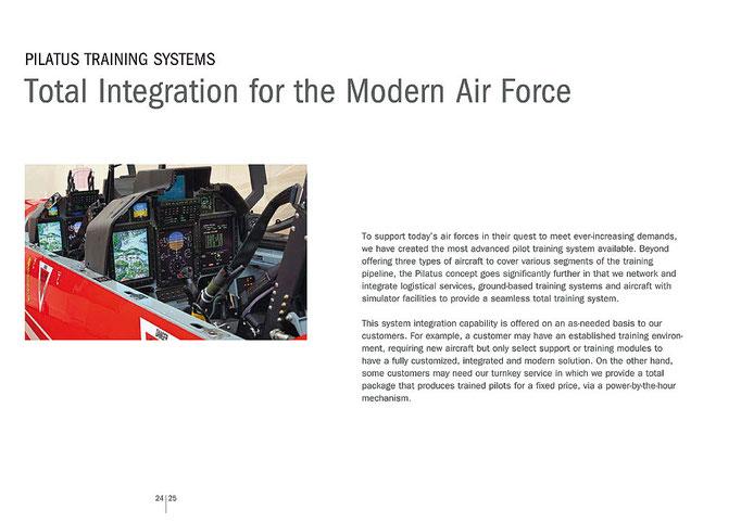 Pilatus Aircraft Ltd. PC-21 Broschüre 2010