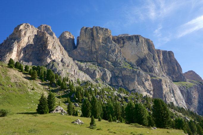 Passo di Sella, Südtirol (Alto Adige), Italy