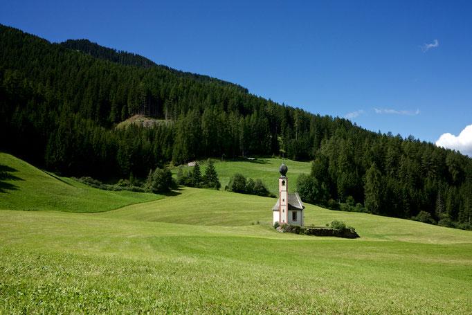Church of Santa Maddalena, Vilnösstal, Südtirol (Alto Adige), Italy