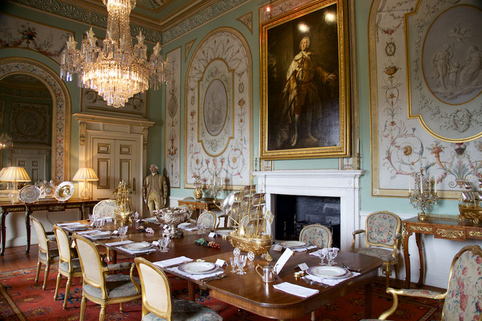 Dining Room, Inveraray Castle