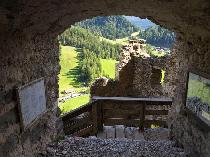 Schloss Wolkenstein, Wolkenstein (Selva),  Südtirol (Alto Adige), Italy