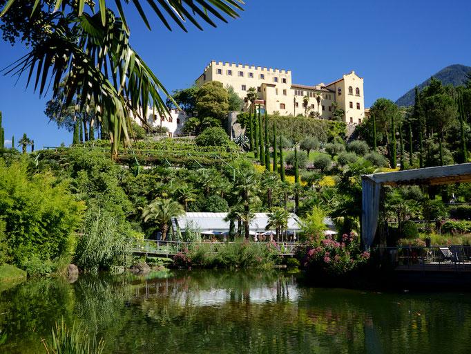 Schloss Trauttmannsdorf, Meran (Merano),  Südtirol (Alto Adige), Italy
