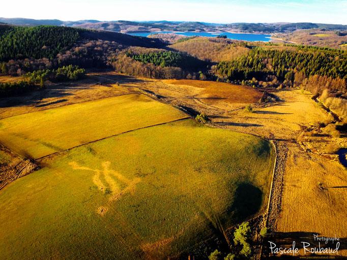 Photo drone la creuse