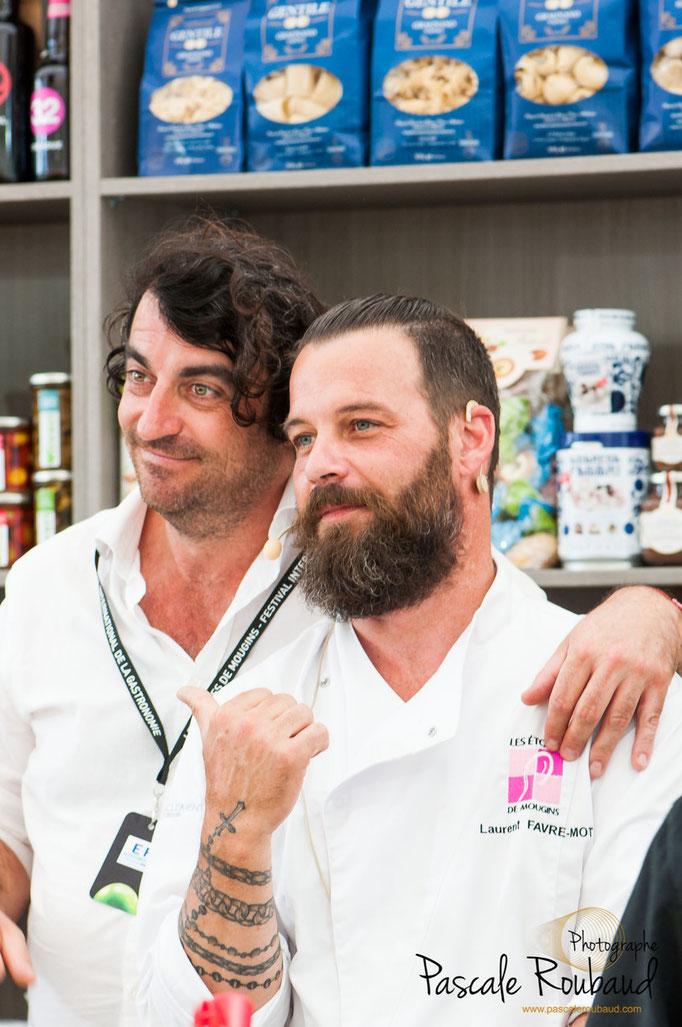 Atelier démonstration de Laurent FAVRE-MOT Chef Patissier à Marseille