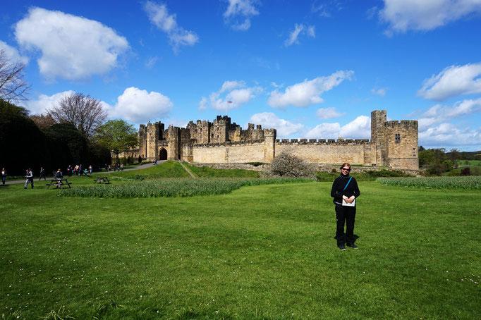 Die Hogwarts Zauberschule - Äh, Alnwick Castle