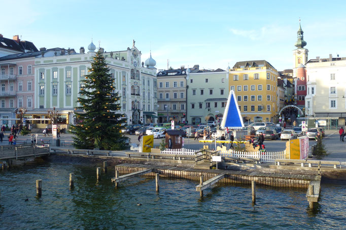 Rathausplatz im Advent, Gmunden, © Thomas Köck