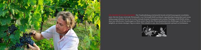 Imagbroschüre Weinhandel