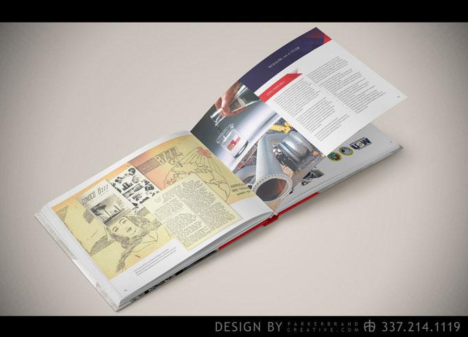 Phillips 66 75th Anniversary Book - Graphic Design Lake