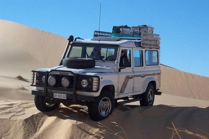 La primissima versione di Azalai in Algeria nel 2002