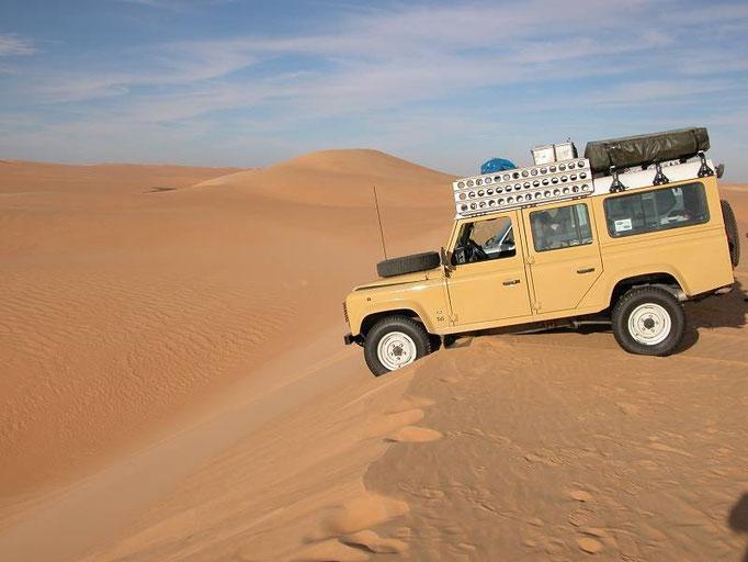 Di nuovo in Libia nel 2005