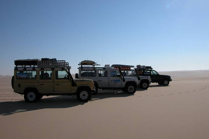 In Egitto nel Gran Mare di Sabbia nel 2006