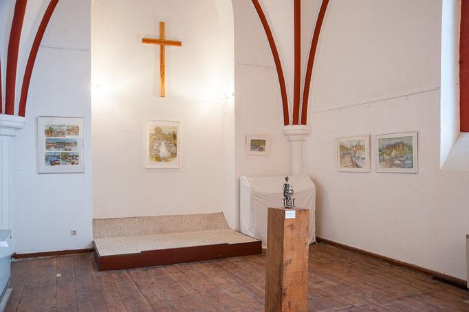"""""""Lassaner und Usedomer Landschaften"""" Mischtechnik, 2010 - 2013"""
