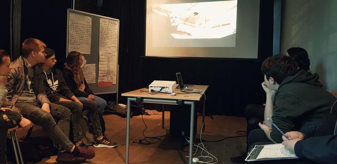 Workshop bei Projekttagen Demokratie in Essen
