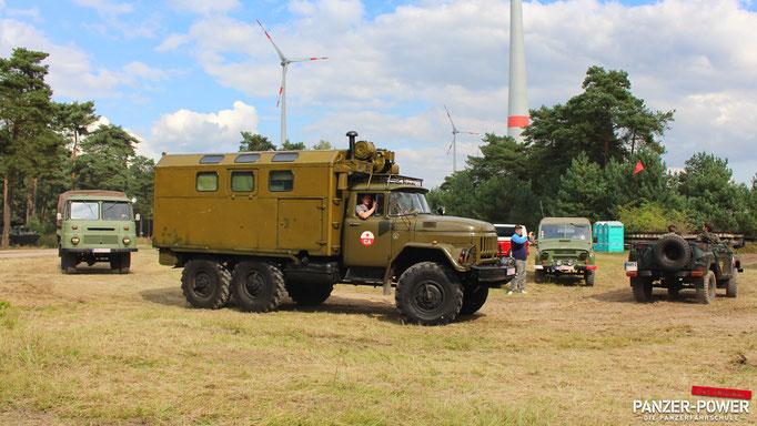 1. Militärfahrzeug-Treffen in Mahlwinkel