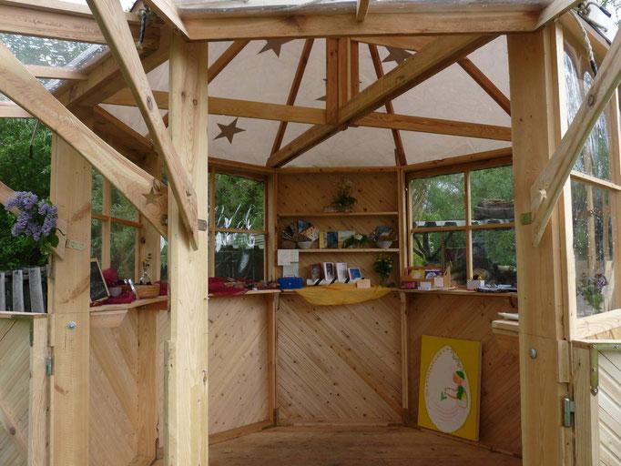 Der Verkaufs-Pavillon