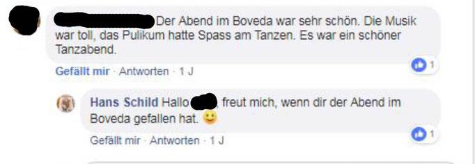 Party im Boveda in Taufkirchen