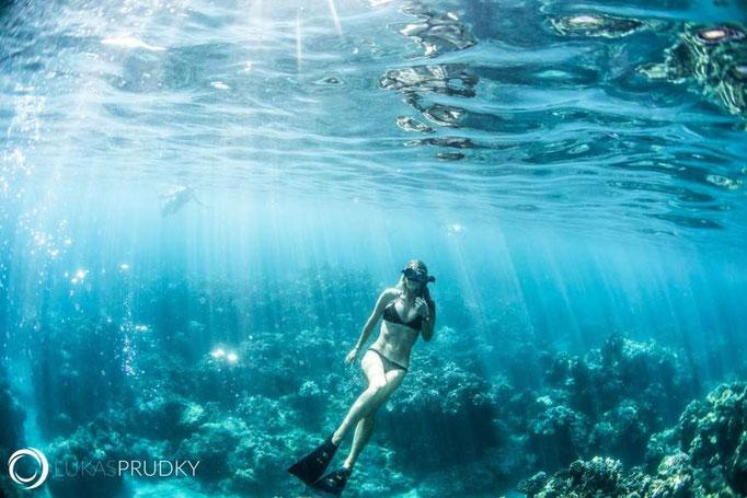 (c) Lukas Prudky Frau unter Wasser
