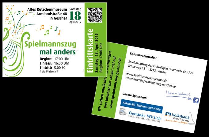 Eintrittskarten für Frühjahrskonzert