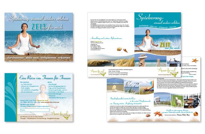 Konzept, Gestaltung, Umsetzung Themenbroschüre und Einladungskarte